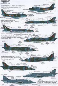 RFC/RAF 100 Years of 4 Sqn Pt 2 (7)Canadair S #XD48107