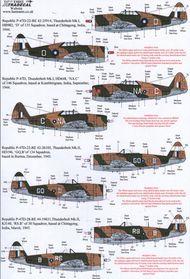 Yanks with Roundels Pt 4 Republic P-47D Thu #XD48115