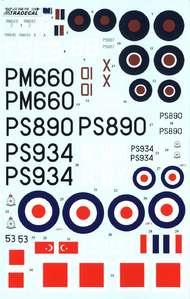 Supermarine Spitfire PR Mk.XIX (8) RM643/Z 54 #XD48118