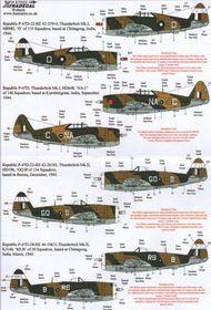 Republic P-47D Thunderbolt in RAF service (12 #XD72152