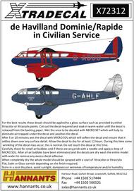 de Havilland Rapide in Civilian Service (6) #XD72312
