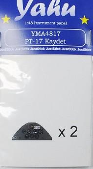 PT-17 Kaydet Instrument Panel for RVL #YMA4817