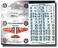 Yellow Wings Decals  1/48 TBD-1 Devastator USN VT-2/VT-5 YWD48001