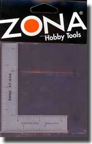 "Zona Tools   Ruler 3"" x 4"" Stainless Steel L-Square Ruler (.022 Thick) ZON37434"
