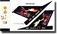 Zotz Decals  1/48 FA61/F-16AM Special Markings 'I'll be back!' ZTZ48002