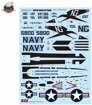 F-4J Phantom II Marking Set 3 VF-96 Fighting Falcons #ZKMD29065