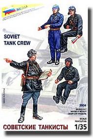 Zvezda Models  1/35 Soviet WW II Tank Crew ZVE3504