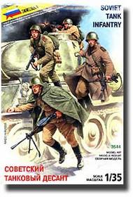 Zvezda Models  1/35 WWII Soviet Tank Infantry ZVE3544
