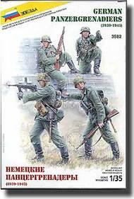 Zvezda Models  1/35 Panzer Grenadiers 1939-1945 ZVE3582