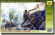 Zvezda Models  1/35 Soviet Mountain Troops WWII ZVE3606