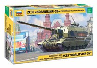 Russian Koalitsiya-SV Tank w/Self-Propelled Gun (New Tool) #ZVE3677