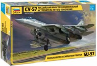 Zvezda Models  1/48 Su-57 Frazor (Felon) Aircraft ZVE4824