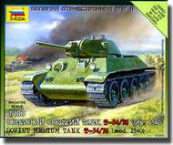 Zvezda Models  1/100 Soviet Tank T-34/76 - New Tooling  ZVE6101