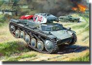Zvezda Models  1/100 German Panzer II - New Tooling ZVE6102
