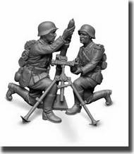 German 81mm Mortar with Crew New Tooling #ZVE6111