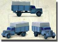 Zvezda Models  1/100 German 3t Cargo Truck New Tooling ZVE6126