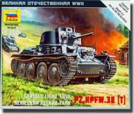 Zvezda Models  1/100 German 38(t) Tank ZVE6130