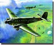 Zvezda Models  1/200 Junkers Ju.52 German Transport Plane ZVE6139