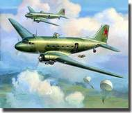 Zvezda Models  1/200 Li-2 Soviet Transport Plane - Snap Kit - New Tooling  ZVE6140