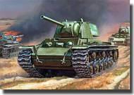 Zvezda Models  1/100 KV-1 Soviet Heavy Tank New Tooling ZVE6141