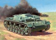 Zvezda Models  1/100 StuG III Ausf B Tank (Snap) ZVE6155