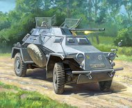 Zvezda Models  1/100 Sd.Kfz 222 Light Armored Car (Snap) ZVE6157