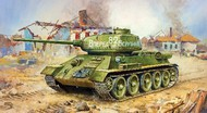 Zvezda Models  1/100 WWII Soviet T34/85 Medium Tank (Snap) ZVE6160