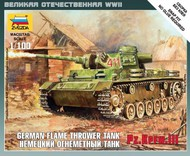 Zvezda Models  1/100 PzKpfw III Flamethrower Tank (Snap) ZVE6162
