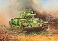 Zvezda Models  1/100 WWII British Matilda II Infantry Tank (Snap) ZVE6171