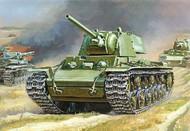 Zvezda Models  1/100 Soviet KV1 Mod 1941 Heavy Tank w/F32 Gun (Snap) ZVE6190