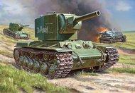 Zvezda Models  1/100 Soviet KV2 Heavy Tank (Snap) ZVE6202