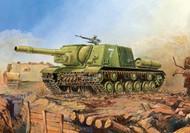 Zvezda Models  1/100 Soviet ISU152 Assault Gun Tank (Snap) ZVE6207