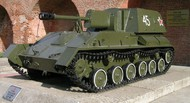 Zvezda Models  1/100 Soviet Su-76M Self-Propelled Gun (Snap) ZVE6239