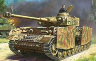 Zvezda Models  1/100 Panzer IV Ausf H Tank (Snap) ZVE6240