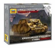 Zvezda Models  1/100 Sturmpanzer IV Brummbar Tank (Snap) (New Tool) ZVE6244