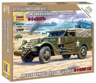 Zvezda Models  1/100 M3 Scout Car (Snap) (New Tool) ZVE6245
