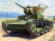 Zvezda Models  1/100 T-26 Mod 1933 Light Tank (Snap) (New Tool) ZVE6246