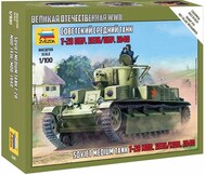 Zvezda Models  1/100 Soviet T-28 Tank (Snap) ZVE6247