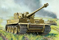 Zvezda Models  1/100 German Tiger I Heavy Tank (Snap) ZVE6256