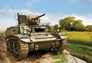 Zvezda Models  1/100 US MA1 Stuart Tank (Snap) ZVE6265