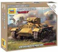 Zvezda Models  1/100 British Valentine Tank ZVE6280
