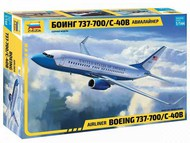 Zvezda Models  1/144 B737-700 Airliner ZVE7027