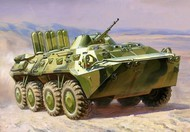 Zvezda Models  1/100 Russian BTR80 Armored Personnel Carrier (Snap) ZVE7401