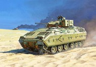 Zvezda Models  1/100 US M2A2 Bradley Infantry Fighting Vehicle (Snap) ZVE7406
