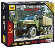 Zvezda Models  1/100 Soviet Ural 4320 Army Truck (Snap) ZVE7417