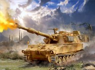 Zvezda Models  1/100 US 155mm Self-Propelled M109A2 Howitzer (Snap) ZVE7422
