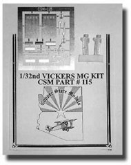 Copper State Models  1/32 Vickers MG Detail Set CSMA32-115