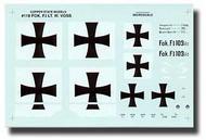 Copper State Models  1/28 Fokker F.I Markings CSMD28-118