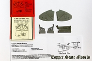Copper State Models  1/28 Early Fokker D.VII Engine Panels CSMA28-157