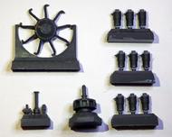 Copper State Models  1/28 Oberursel U.II motor RVL DR.I Resin & PE CSMA28-182